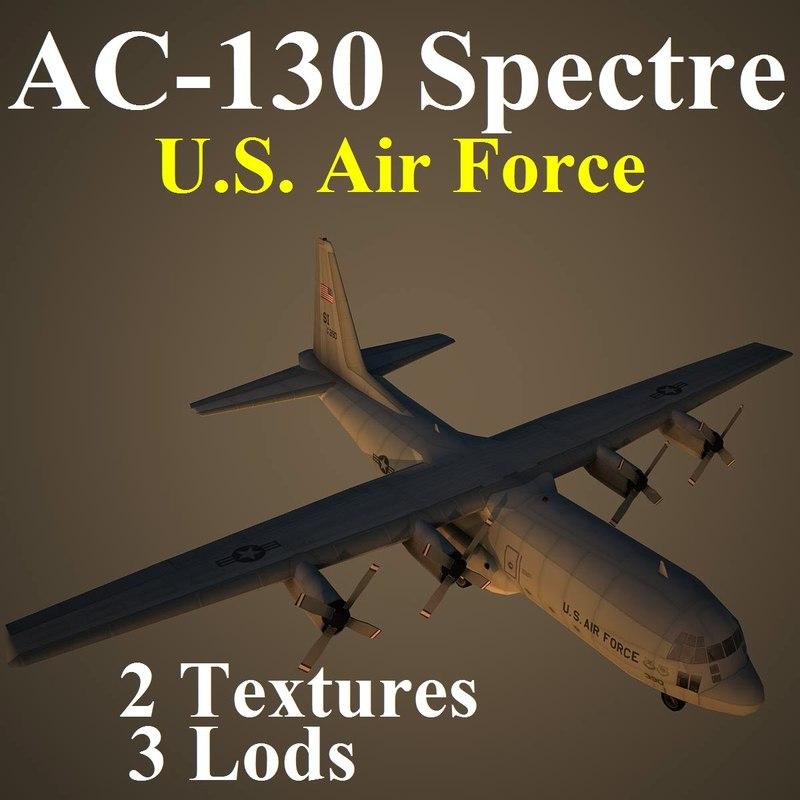 max ac-130 spectre u s