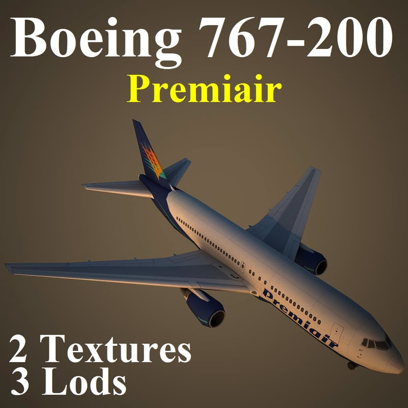 boeing 767-200 vkg max