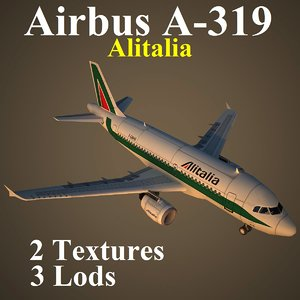 3d airbus aza