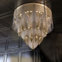 mandala chandelier obj
