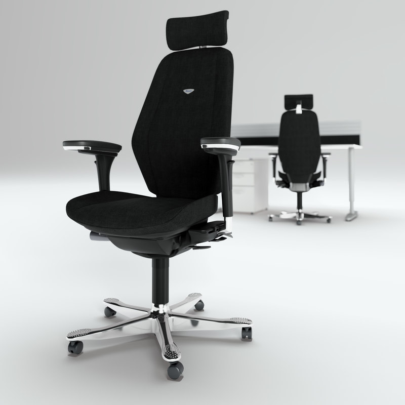 3d model kinnarps ask chair work