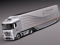 Mercedes Actross AeroTrailer 2014