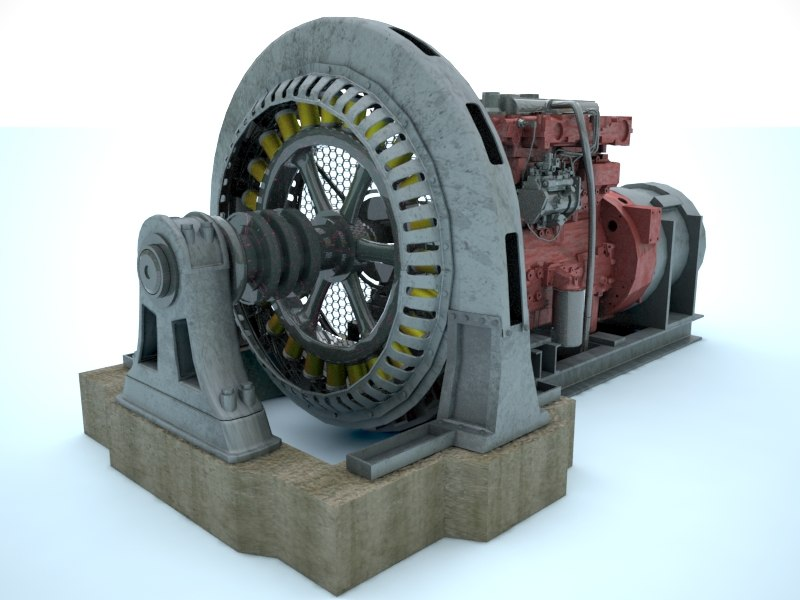 old generator 3d 3ds
