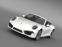 porsche 911 carerra 4 3d model