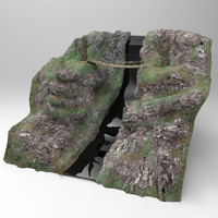 3d bridge raven ravine model