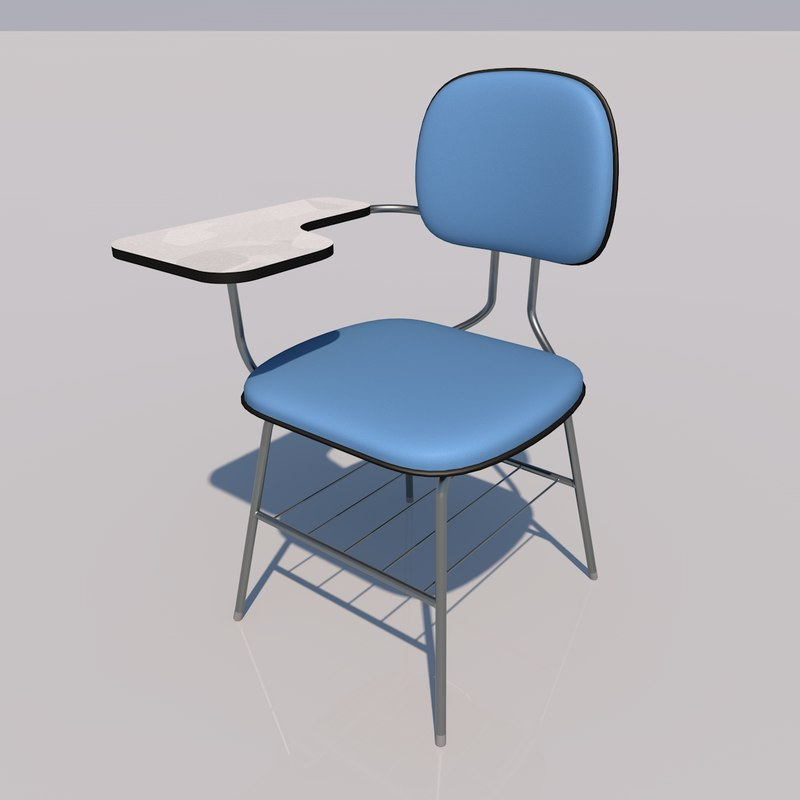 school chair 3ds