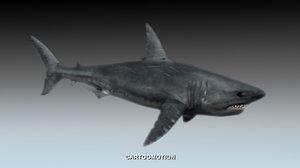 free max mode great white shark