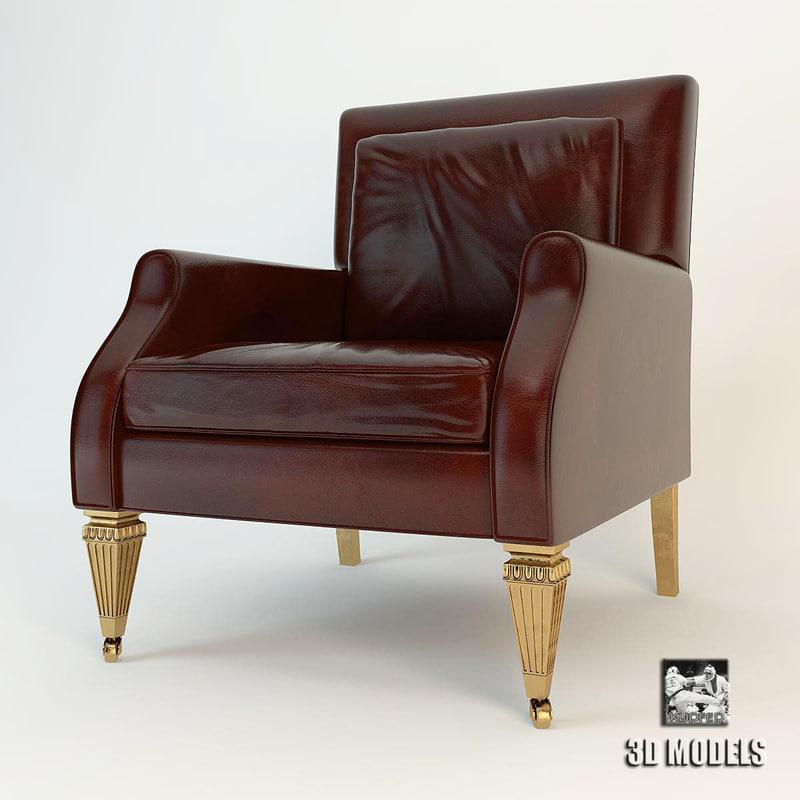 3d baker stately homes chair