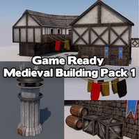 Game Ready Medieval Building Pack