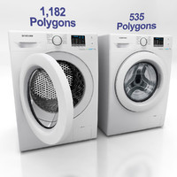 3d model washing machine f