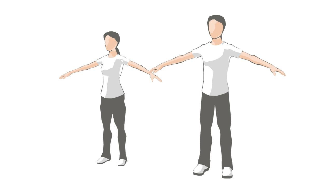 3d faceless simple rigged
