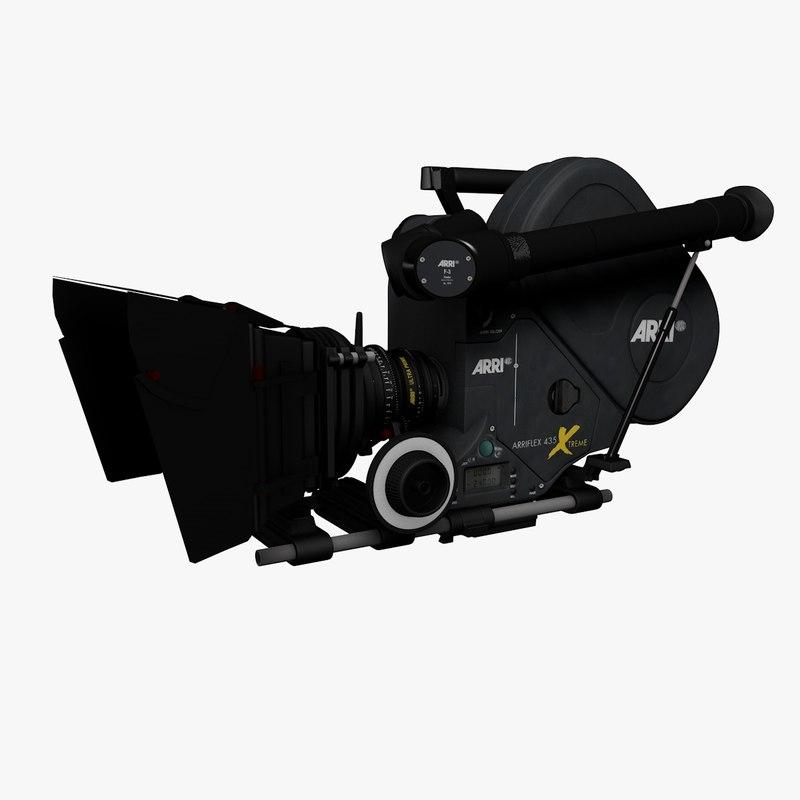 cinema4d 35mm movie camera arriflex