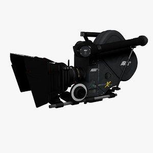 cinema4d 35mm movie camera arriflex
