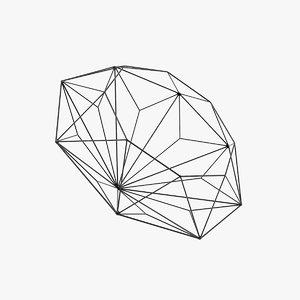 3d diamond bowl