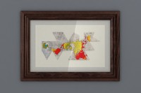 3d dymaxion framed model