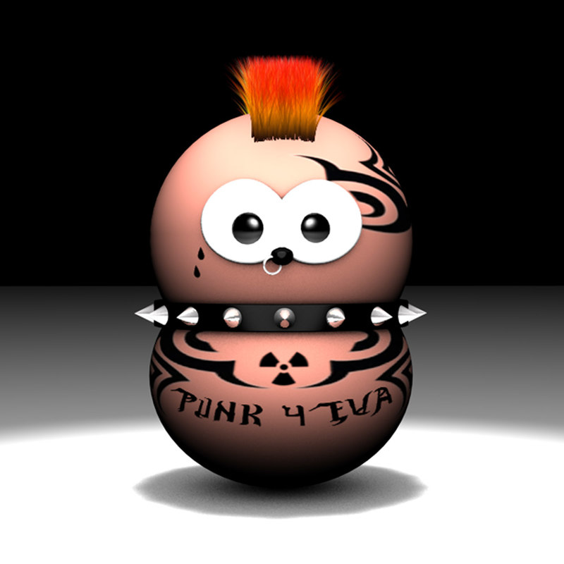 cinema4d zingy punk