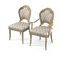 Hickory white 131-65 Dining Chair Set