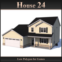 Low Polygon House 24