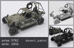 desert patrol 3d max