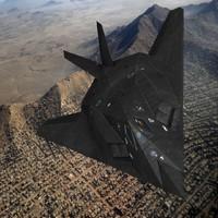 f117 nighthawk 3d max