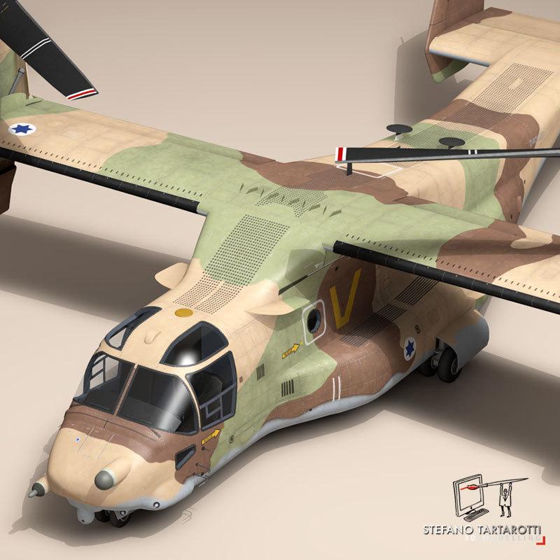 v-22 osprey helicopter 3ds