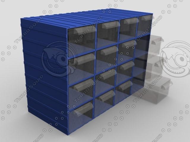 screw box 3d model