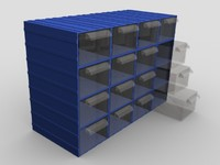 screw box 3d model