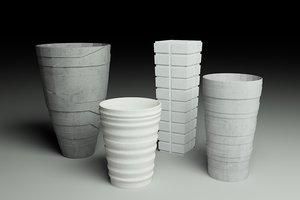 max tall vases