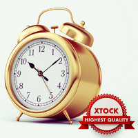 Gold Alarm Clock