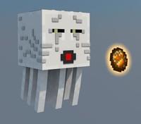 3d minecraft ghast model