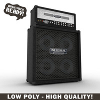mesa boogie amplifier 3d max