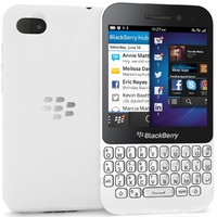 blackberry q5 white 3d model