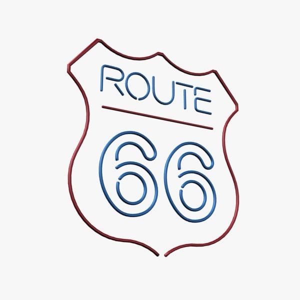 route 66 neon max
