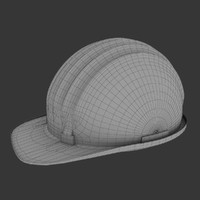 3d model safety helmet