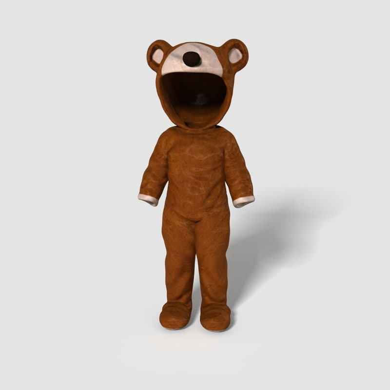 max realistical bear outfit