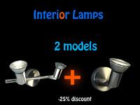 lamps interiors 3d max