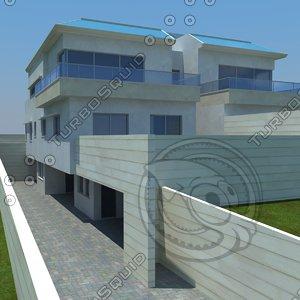home house fbx