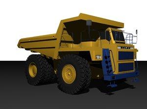 belaz 7555 3d model
