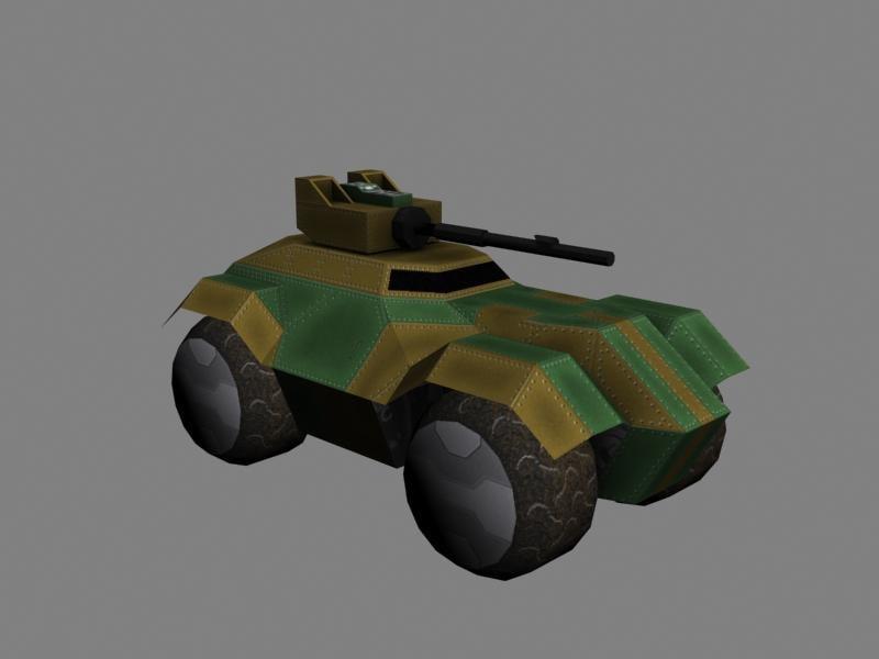 3d scifi vehicles model