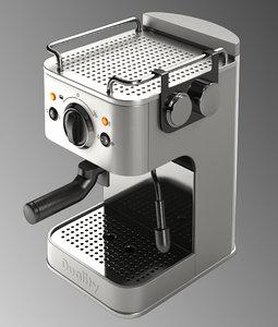 3d coffee machine duality model
