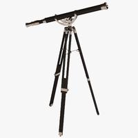 3d eichholtz telescope maritime
