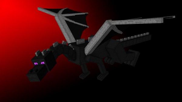 3d ender dragon minecraft
