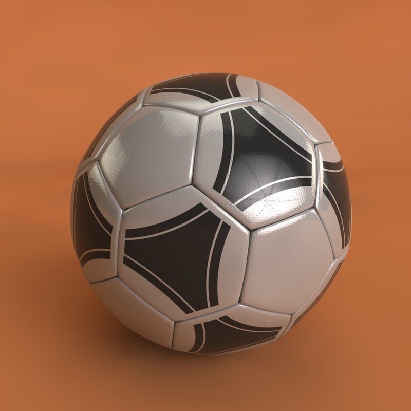 football soccer ball c4d
