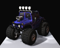 3d cartoon hummer