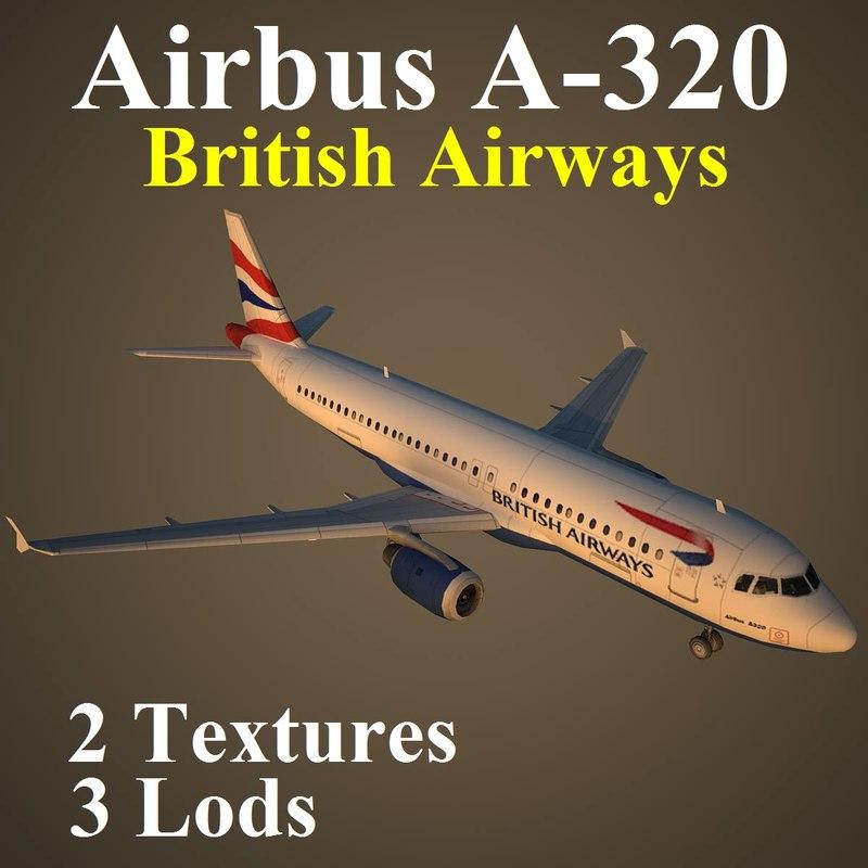 3d airbus baw model