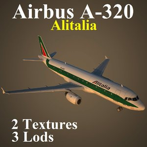 3d model airbus aza