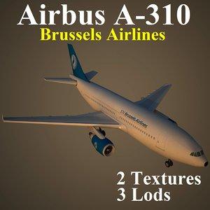 airbus dat 3d max