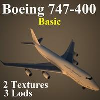 B744 Basic