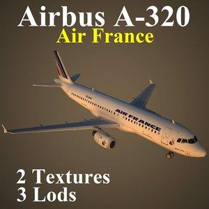 airbus afr 3d model