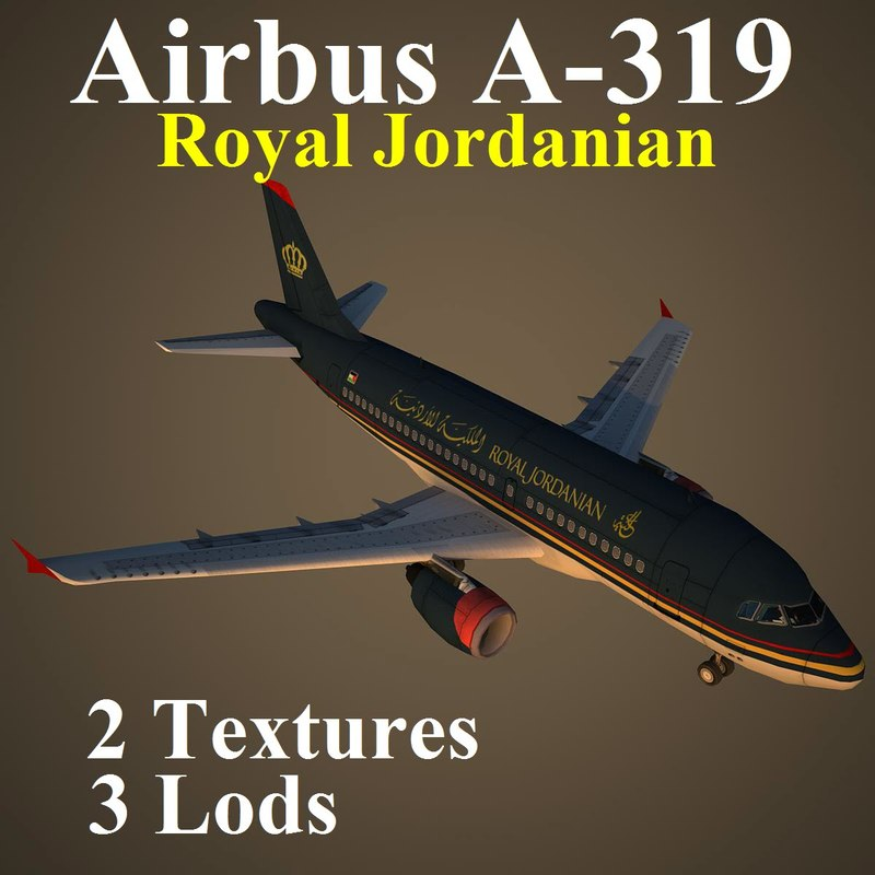 airbus rja 3d model